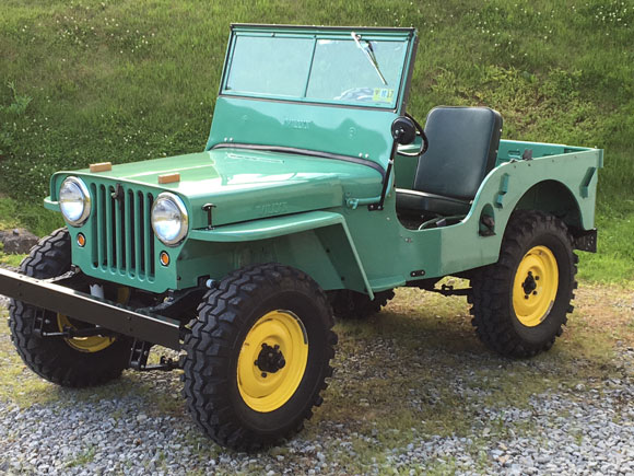 Walter Williams' 1946 Willys CJ-2A