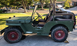 Daniel North - 1942 Willys MB