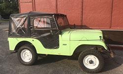 Diana Knox - 1962 Willys CJ-5