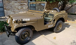 Ed Bandy - Willys M38A1