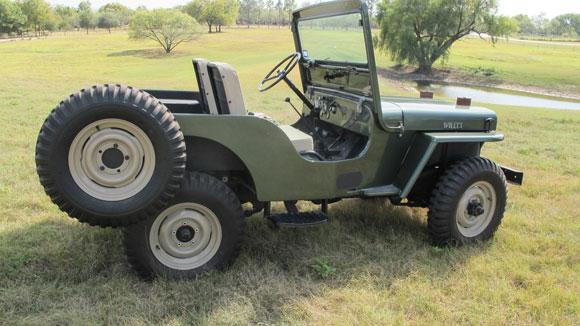 Guy Morton's 1952 Willys CJ-3A