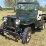 A Willys CJ-3A Restored by Family and Kept in the Family