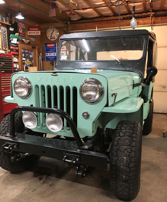 Daniel Polillio 1962 Willys CJ-3B