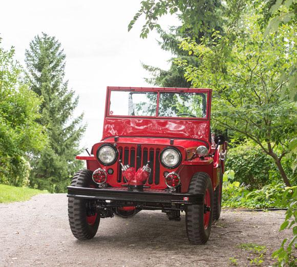 Ron Foss' 1946 Willys CJ-2A