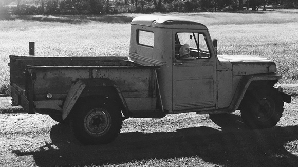 Amanda Haakenson's 1949 Willys Truck