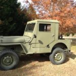 A Father and Son Willys CJ-2A Frame Off Restoration
