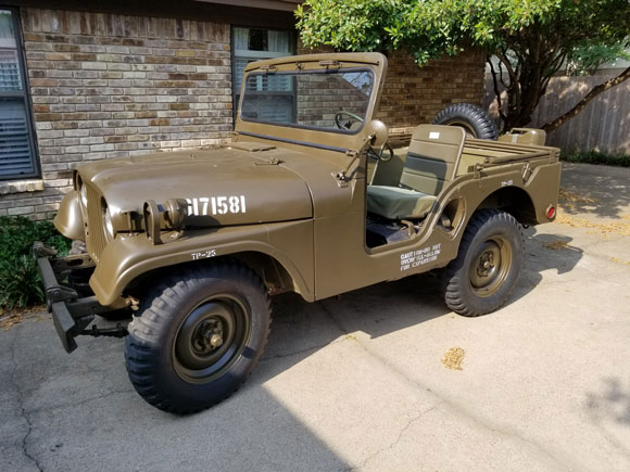 Ed Bandy's 1954 Willys M38A1
