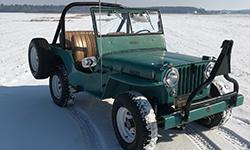 Aaron Hurd - Willys CJ-2A