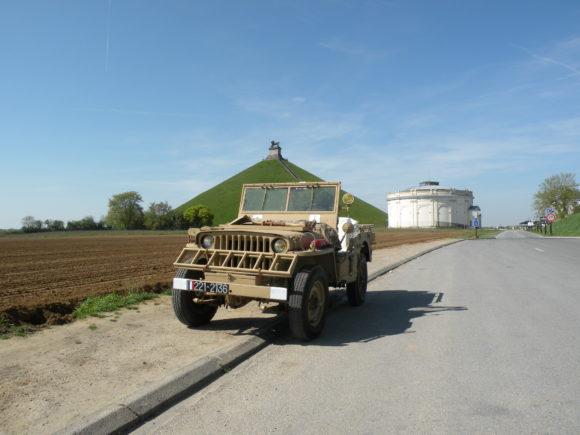 Xavier Peeters' M201 Hotchkiss Jeep