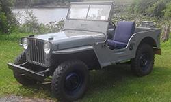 Ed Munoz - 1946 Willys CJ-2A