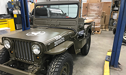Jason Coffey - 1950 Willys M38