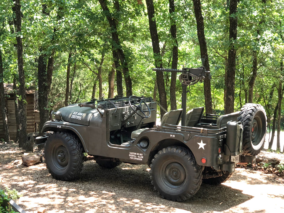 Joshua Little's 1955 Willys M38A1