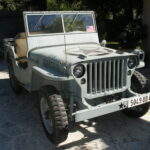 A 1944 Navy Willys MB in the French Riviera