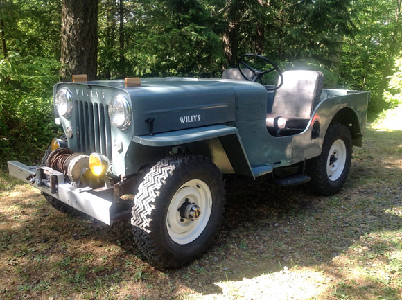 Michael Witt 1953 Willys CJ-3B