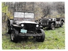 1941 Willys Slat Grille MB and 1945 Ford GPW