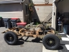 1952 Willys M38 - Rolling Frame Assembly