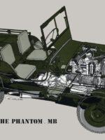 MB Phantom Willys Vintage Poster