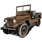 Kaiser Willys CJ-2A Color Guide