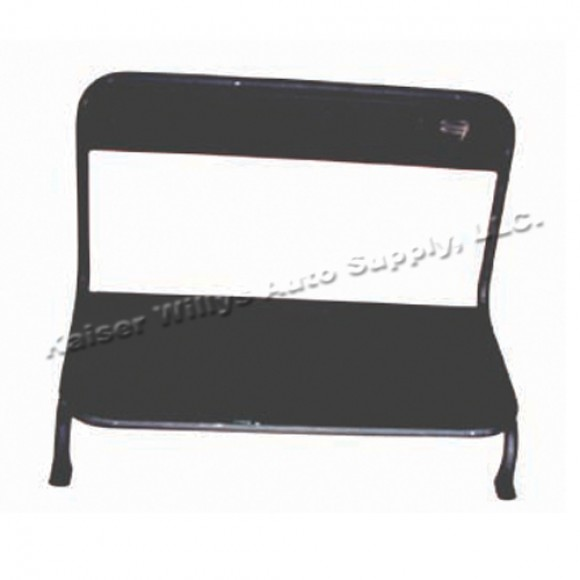 willys jeep parts q\u0026a rear seat frame kaiser willys jeep blog Willys Jeep CJ2A Rear-Seat