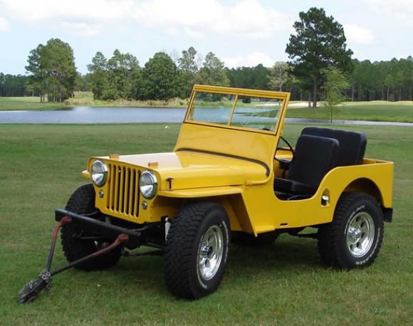 Timothy Boyer's 1947 CJ-2A