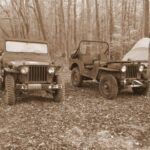 Trail Riding with our M38's