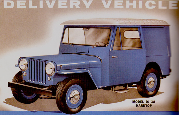 Brief History: DJ Series :: Kaiser Willys Jeep Blog on jeep postal truck sale, jeep wagoneer wiring diagram, jeep j10 wiring diagram, jeep j20 wiring diagram, jeep mail truck,