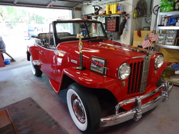 Will Matevich's 1948 Willys Jeepster