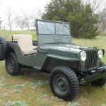 Willys Jeep Dedicated to my Father