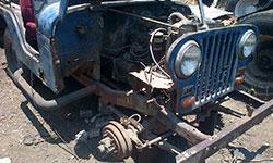 Estuardo Monterroso 1958 Willys CJ-5