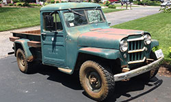 Jay Cooper 1953 Willys Truck