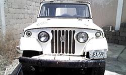 Juan Barranco 1970 Jeepster Commando