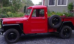 Neil Watt 1962 Willys Truck