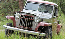 Rod Smith 1957 Willys Truck