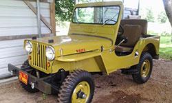 Teresa Dickerson Willys CJ-3A
