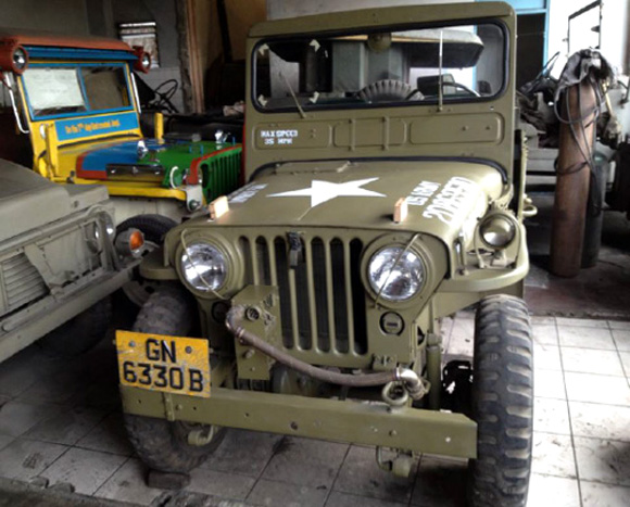 Romeo Dilig's Willys Jeep Collection