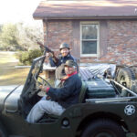 Enjoying Life and BBQ in a Willys Jeep