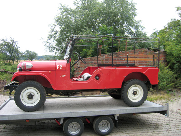 Christoph Buescher's 1967 CJ-6 Jeep