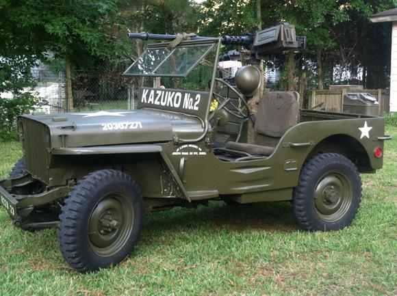 Ryan Wham's 1942 Willys MB