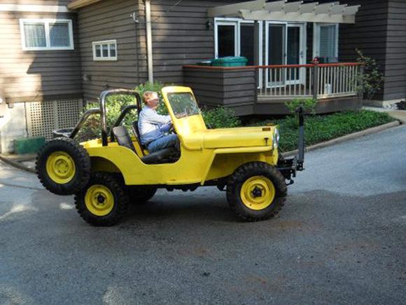 Tim Smith's Willys CJ-2A