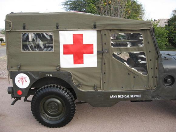 Jun Tolentino's 1954 Willys M170 Frontline Ambulance