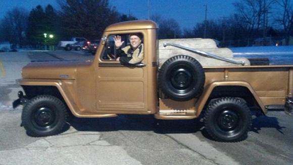 Craig Czupka's 1949 Willys Pickup