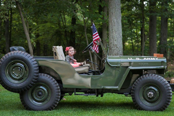 Ken Doctor's 1947 Willys CJ-2A - Photo by Klein Photography