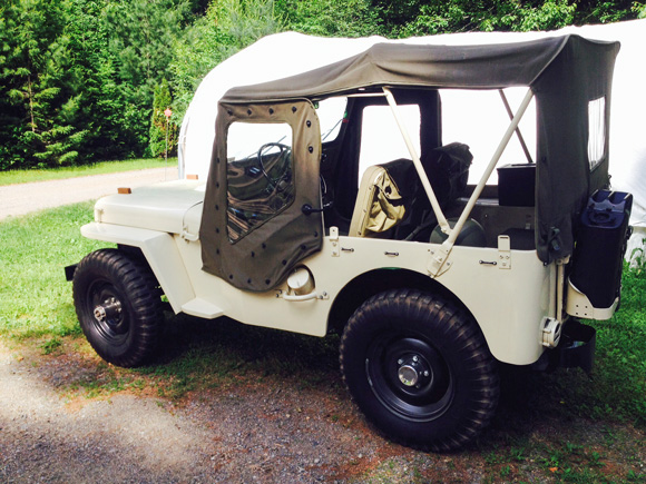Marie Connelly's Willys M38