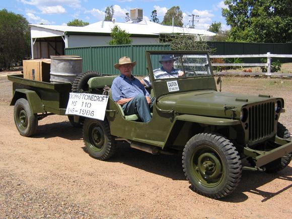 Vaughn Becker's 1942 MB Jeep