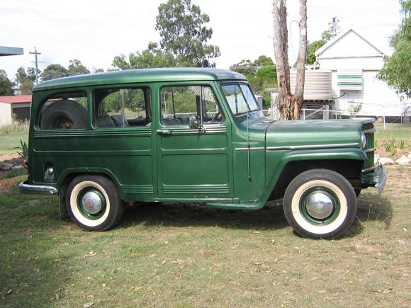 Vaughn Beckers' 1954 Willys Wagon