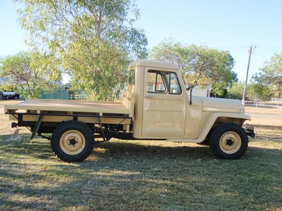 Vaughn Becker's 1956 Willys 4-75 Truck