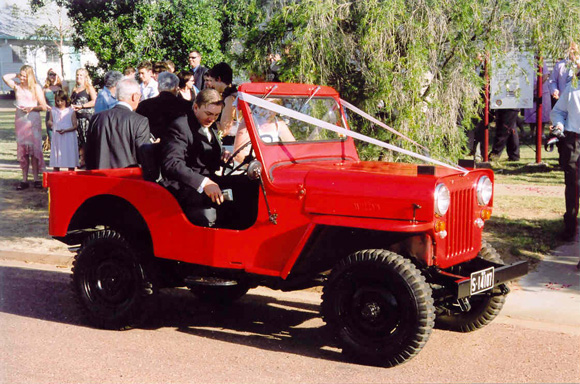 Vaughn Becker's 1957 Willys CJ-3B