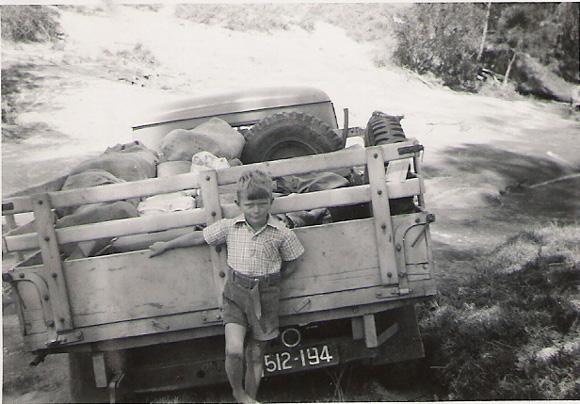 Vaughn Becker as a Child