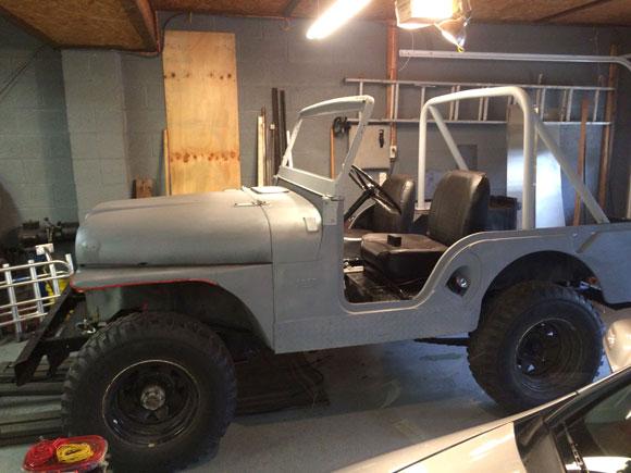 Don Verrico's 1962 CJ-5 Jeep