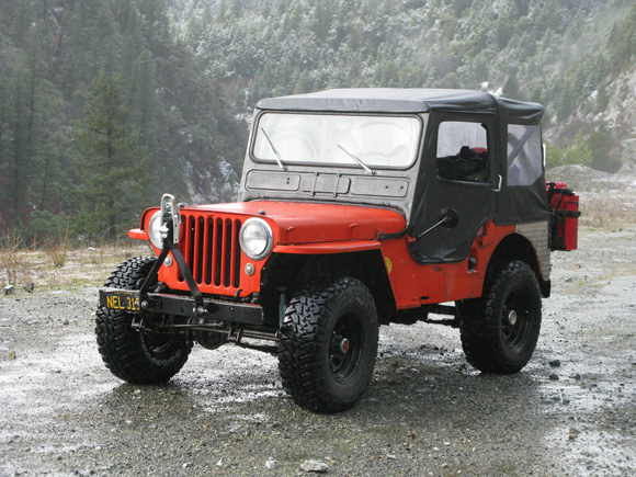 Vern Selvy's 1947 Willys CJ-2A